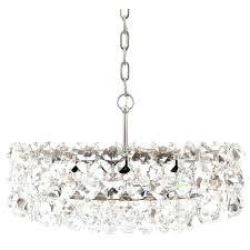 crystal drum chandelier pair of large and drum chandeliers 1