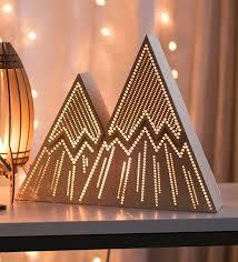 lighting for baby room. mountain night light stripes kidu0027s lamp lantern wilderness nature woodland lighting for baby room h