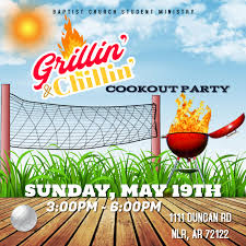 Cookout Flyer Template Postermywall