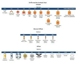Military Ranks Insignia Charts