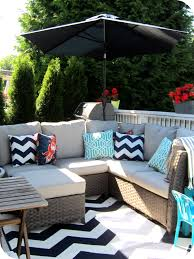 black and white outdoor rug deck home of harts glamour black and white outdoor rug