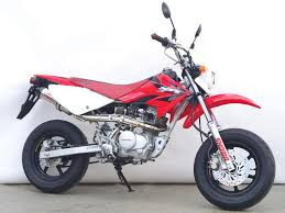 honda xr100 motard red 5 264 km details japanese used