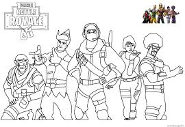 Fortnite coloring pages | print and color.com. Skins Picture Fortnite Coloring Pages Printable
