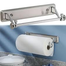 Kitchen towel holder Old Fashioned Image Is Loading Newyorkkitchenwallmountpapertowelholder Ebay New York Kitchen Wallmount Paper Towel Holder Stainless Steel
