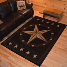 delectably yours decor western star ebony rug collection