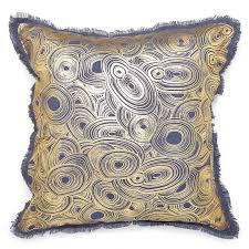 gilded malachite throw pillow  modern décor  pillows  jonathan