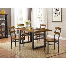 Better Homes And Gardens Kitchen Table Set Better Homes And Gardens Mercer Dining Table Vintage Oak Finish