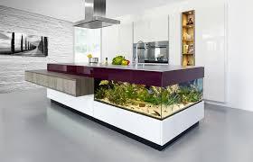 kitchen island aquarium view in gallery aquarium built into kitchen counter