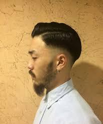 矢作レオさんのヘアスタイル メンズポンパドールクラシック Inside