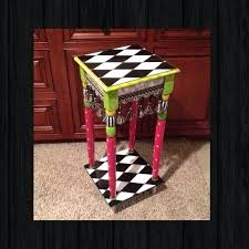 alice in wonderland furniture. Alice In Wonderland Furniture Whimsical Painted Table .