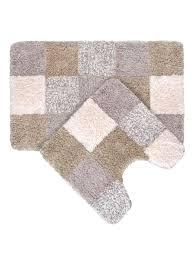 <b>Набор ковриков</b> для ванной комнаты, 50*80+50*50 см, Hopscotch ...