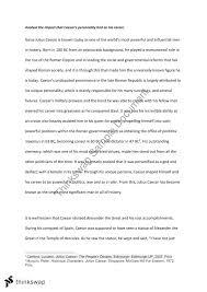 julius caesar band essay analyse the impact that caesar s julius caesar band 6 essay analyse the impact that caesar s personality had on his career