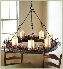 real candle elier lighting amazing non electric in wrought iron chandelier stunning chandelier with