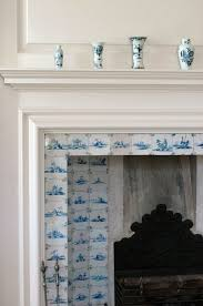 164 best delft tile fireplaces images on tile fireplace tiles and white tiles