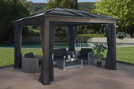 Grand Resort Hardtop Gazebo Privacy Curtains Http Web2review