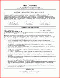 New Accounting Cv Templates Wing Scuisine