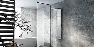 Acs Designer Bathrooms Beauteous Vantory Shower Panel Head SUS 48 Stainless Steel Rainfall Multi