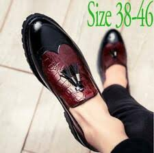 new zapatos de hombre embroidered plum rose groomed brock style carved face with gentleman leather shoes male mens dress