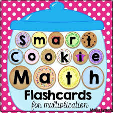 Smart Cookie Math Multiplication Flashcards Lucky To Be In First