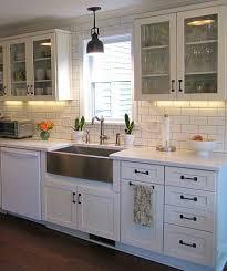 kitchen design white cabinets white appliances. Kitchen Design White Cabinets Appliances E