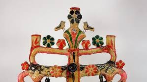 Attrib Aurelio Flores Mexican Pottery Tree of Life – Lofty Marketplace