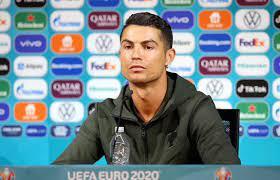 شاهد.. سبب غضب رونالدو في المؤتمر الصحفي للبرتغال - الرياضي - بطولة أمم  أوروبا - البيان
