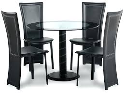 small glass dining table and 4 chairs popular of dining table set 4 chairs round dining