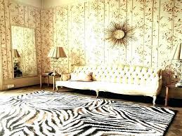 brown white zebra rug pottery barn print rugs blue brown zebra print rug