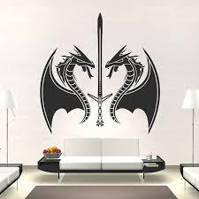 dragon sword wall nice dragon wall art