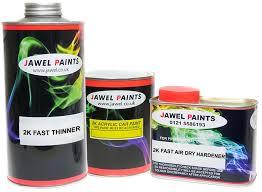 2k Acrylic New Matt Range Jawel Paints