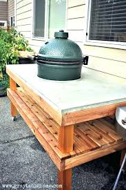 grill side table outdoor best wood for prep bbq canada att