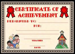 Printable Achievement Certificates 28 Images Of Academic Achievement Certificates Template Leseriail Com