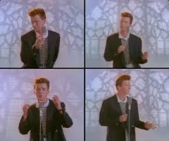 Image result for rick roll