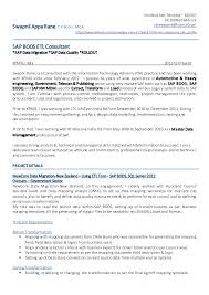 Swapnil Rane Resume - SAP BODS BODQ SAP_NW_MDM. KandivaliEast, Mumbai  400101 +91(0)9920 666 123 Swapnil Appa Rane ...