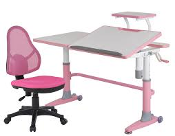 kids desk furniture. SMart Pink And White Desk With Chair For Kids Furniture