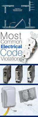 17 best ideas about electrical wiring electrical the 8 most common electrical code violations diyers make