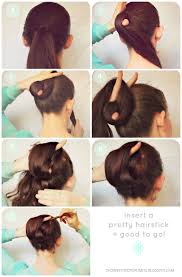 Chopstick Hairstyle hello lovelies today i will show you a pretty new bun it is 1411 by wearticles.com