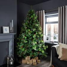 Full Size of Christmas: Christmas Trees Q 7ft Lakewood Pre Decorated Tree  Departments Diy At ...