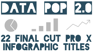 Data Pop Infographic Charts For Fcp X Updated