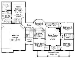 House Plan 59180 At FamilyHomePlanscomCountry Floor Plans