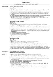 Obiee Developer Obiee Developer Resume Samples Velvet Jobs
