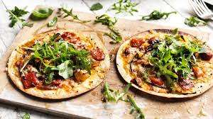 Simple Tortilla Pizzas Recipe Bbc Food