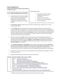 Product Manager Resume Pdf Product Manager Resume Example Top Software Product Manager Resume