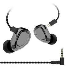DI- KBEAR <b>KB04</b> Detachable <b>HiFi</b> In-Ear Wired <b>Earphones</b> Sports ...