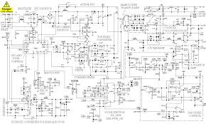 computer power supply schematic and operation theory computer power supply schematic