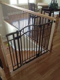 Gate For Stairs Interior Stair Gate Designs