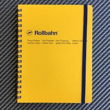 Delfonics Rollbahn Spiral Bound Notebook Pete Denison