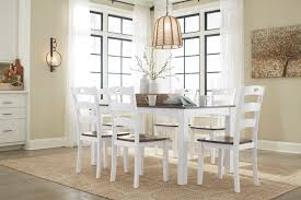 pics of dining room furniture. Ashley D335 Woodanville 7 Pack Table Chairs Pics Of Dining Room Furniture