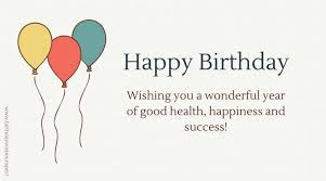Happy Birthday Business Card A Special Business Celebration Corporate Birthday Wishes