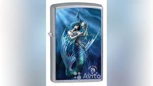 <b>Зажигалка Zippo</b> 79599 Anne Stokes <b>Mermaid</b> купить в Москве с ...